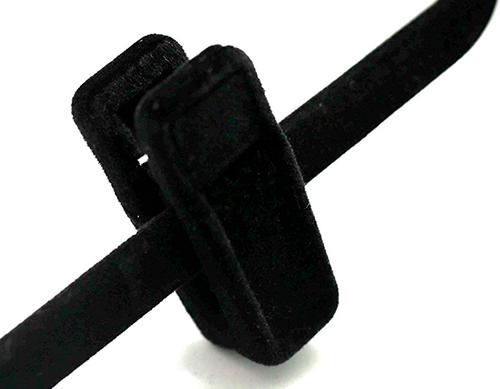 Presilha de veludo - Kit com 20 unidades (10 pares)