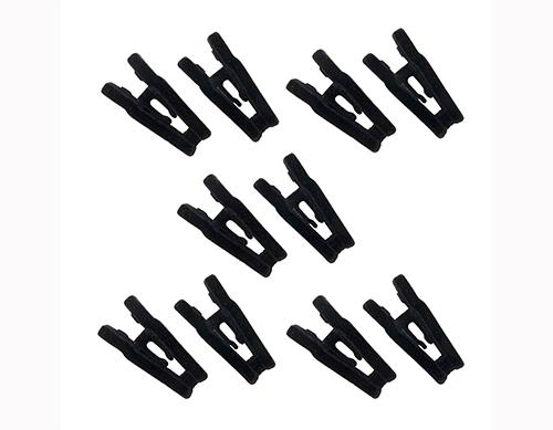 Presilha de veludo - 5 pares