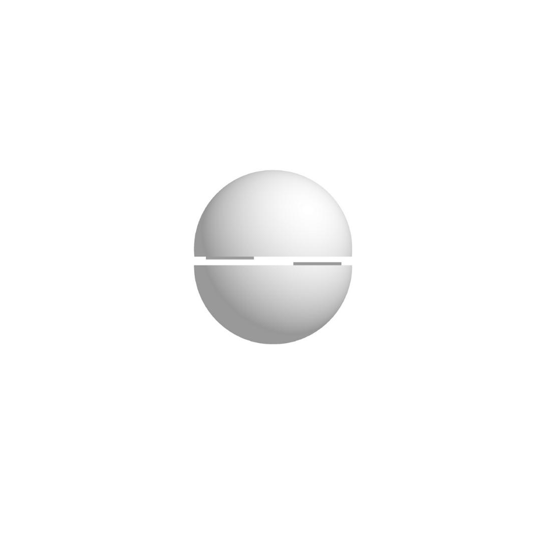 Bola De Isopor 10cm Diâmetro Oca