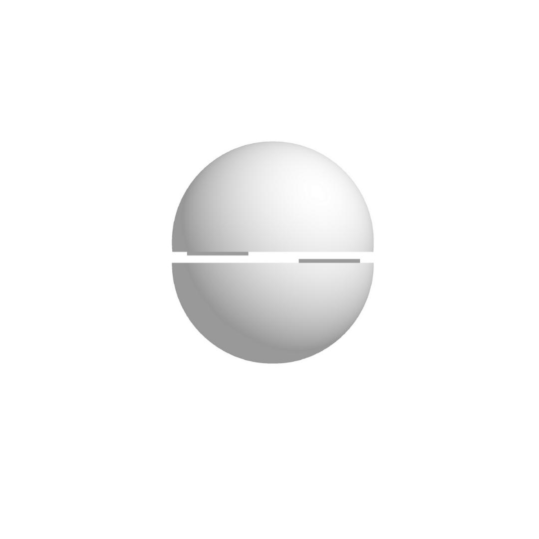 Bola De Isopor 17,5cm (175mm) Diâmetro Oca