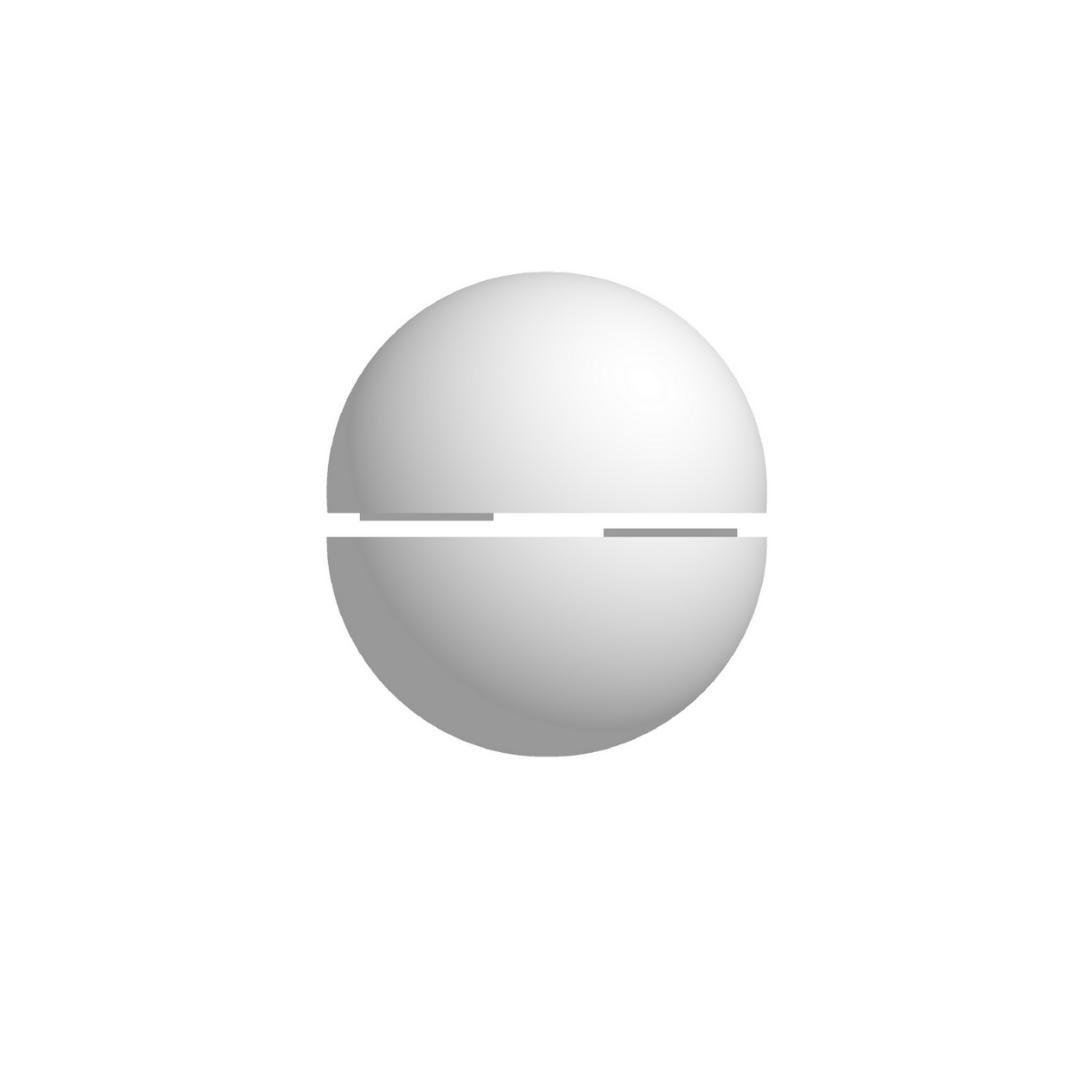 Bola De Isopor 20cm Diâmetro Oca