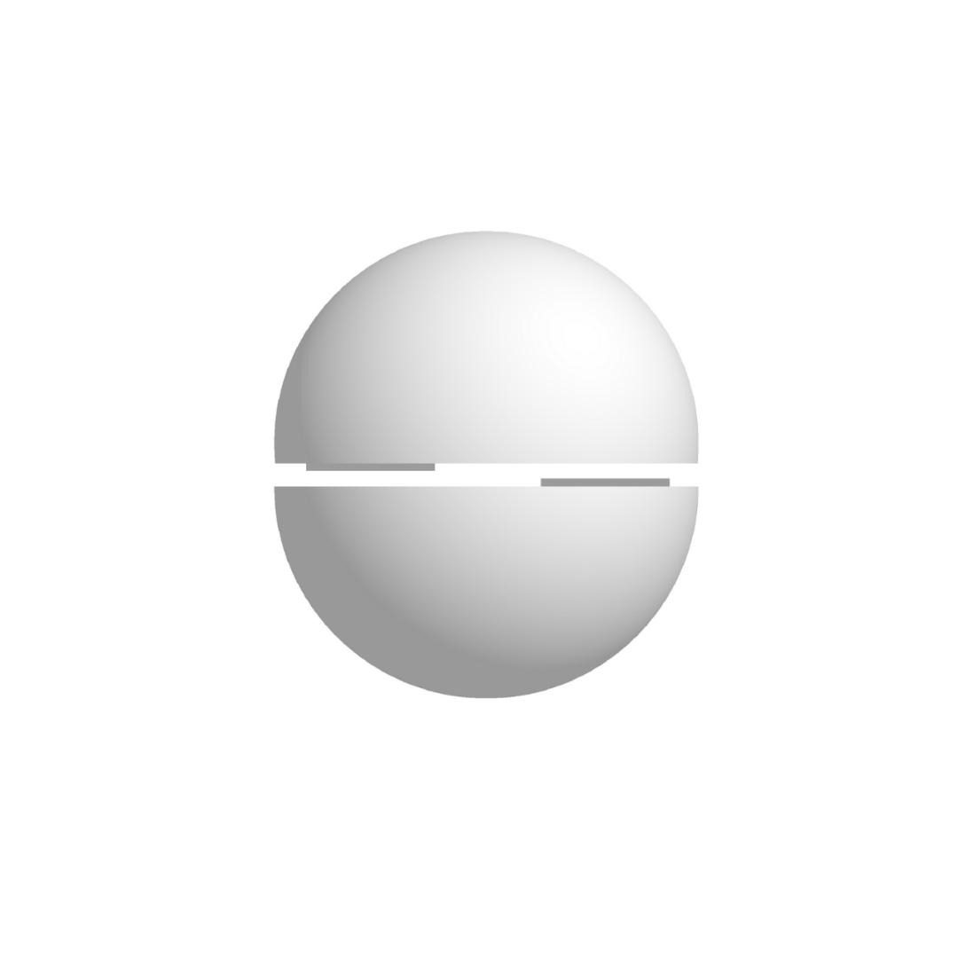 Bola De Isopor 25cm Diâmetro Oca