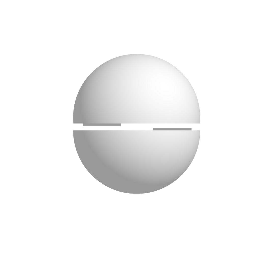 Bola De Isopor 30cm Diâmetro Oca