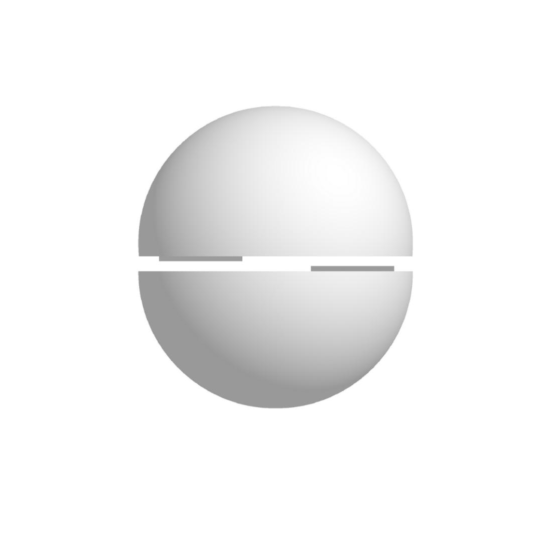 Bola De Isopor 35cm Diâmetro Oca