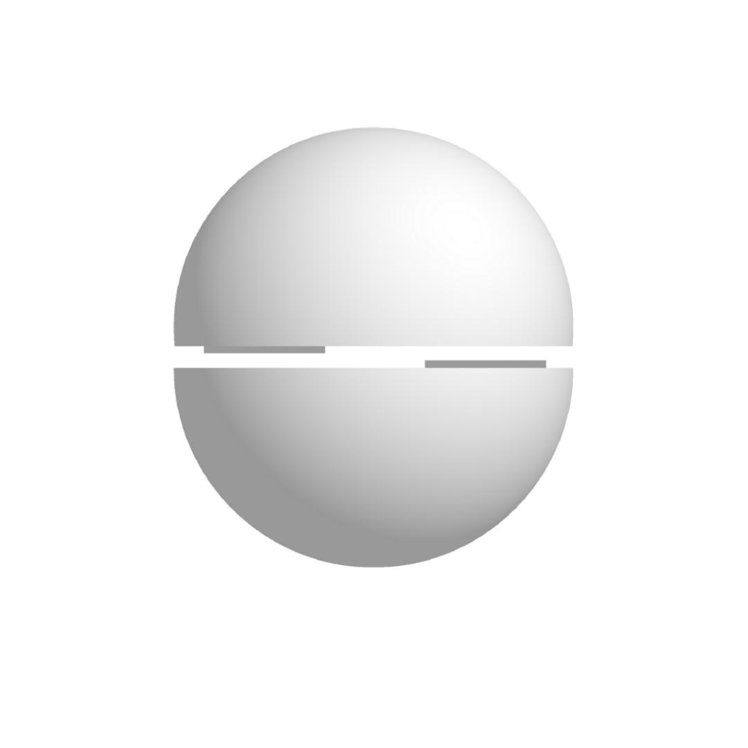 Bola De Isopor 40cm Diâmetro Oca