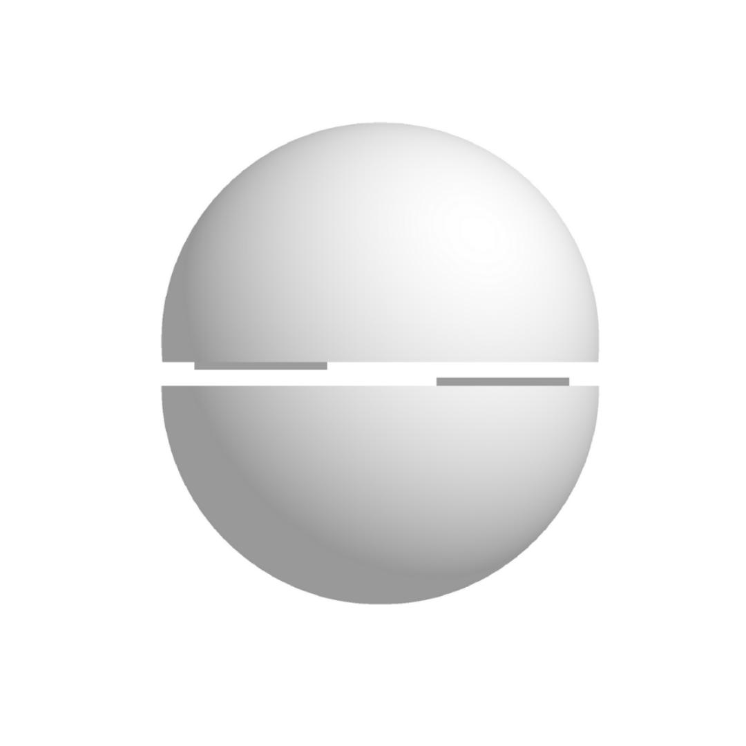 Bola De isopor 50cm Diâmetro