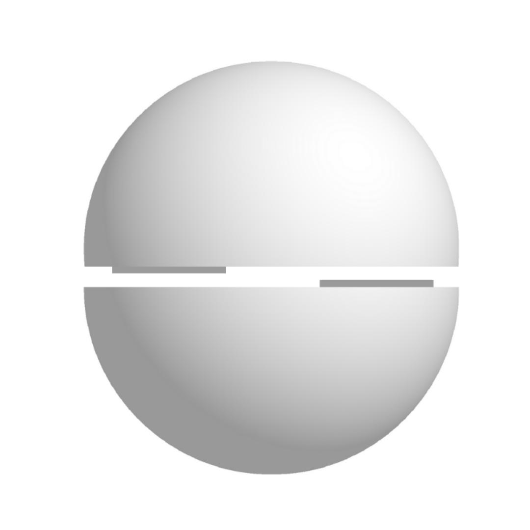 Bola De Isopor 70cm Diâmetro Oca