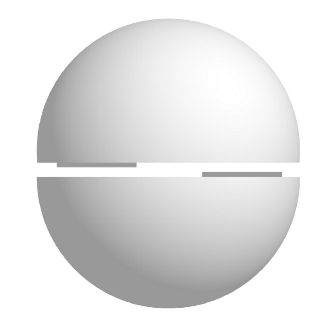 Bola De Isopor 90cm Diâmetro Oca