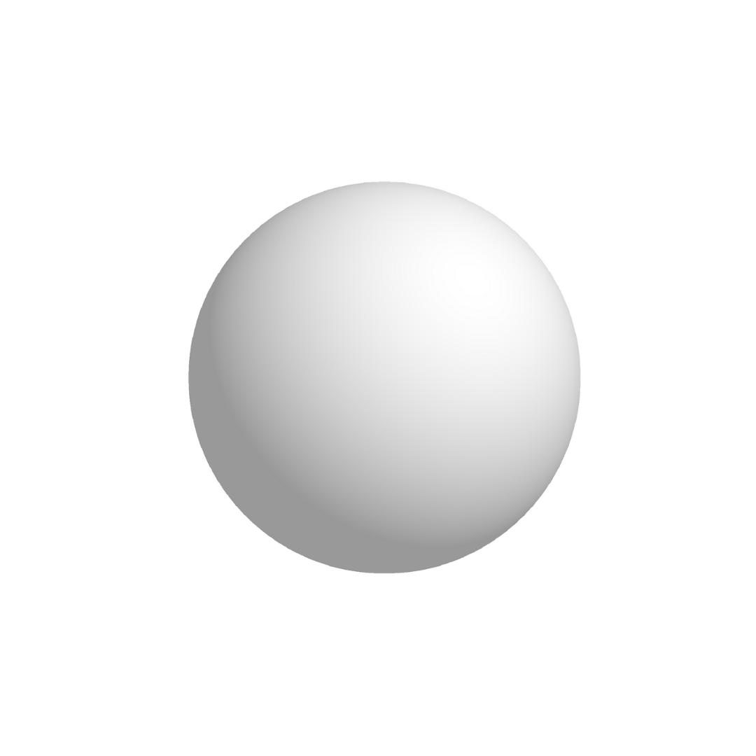 Bola De Isopor 10cm (100mm) Diâmetro Compacta