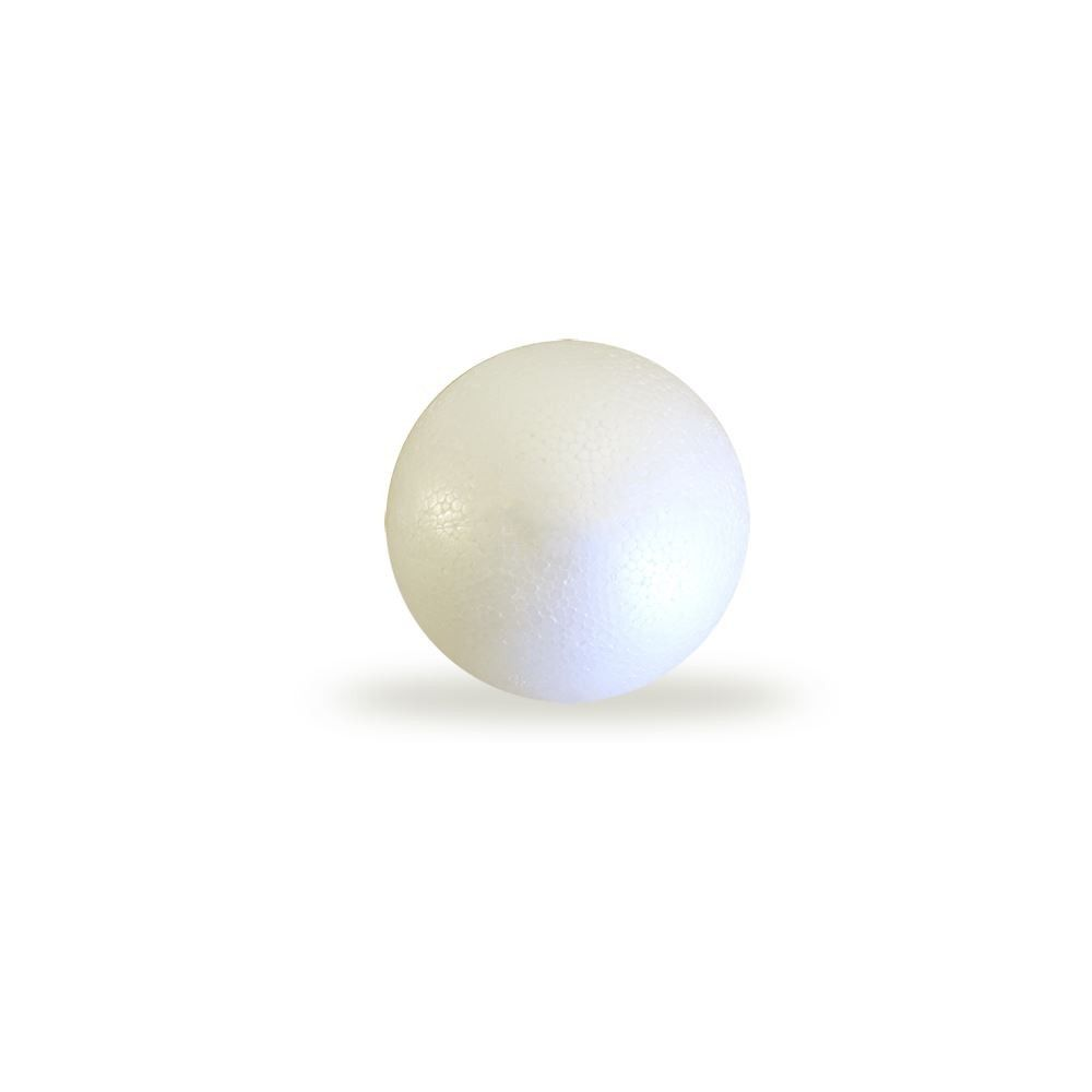 Bola De Isopor c/ 2,5cm (25mm) Diâmetro Compacta