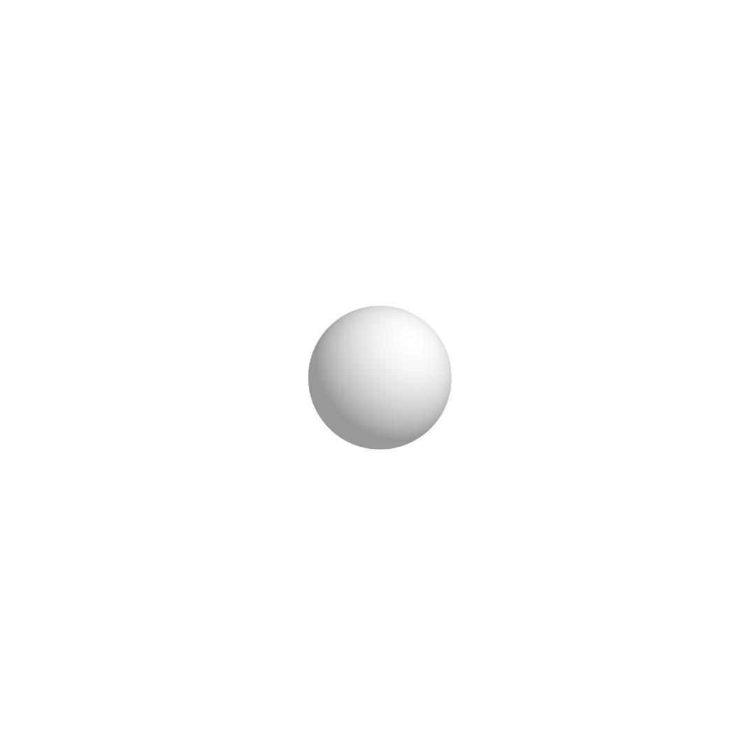 Bola De Isopor 3,5cm (35mm) Diâmetro Compacta