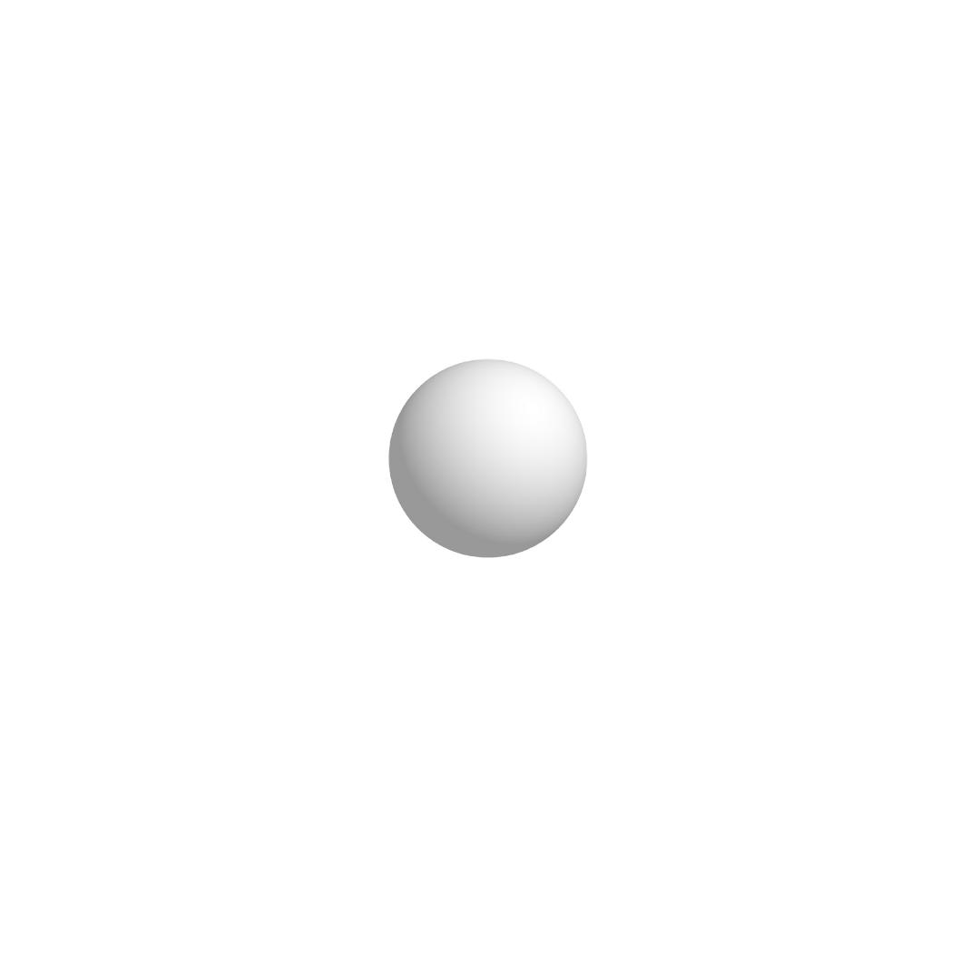 Bola De Isopor 4cm (40mm) Diâmetro Compacta