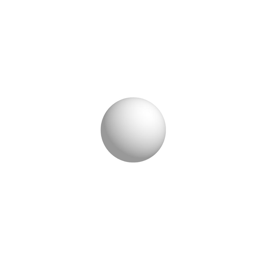 Bola De Isopor 5cm (50mm) Diâmetro Compacta