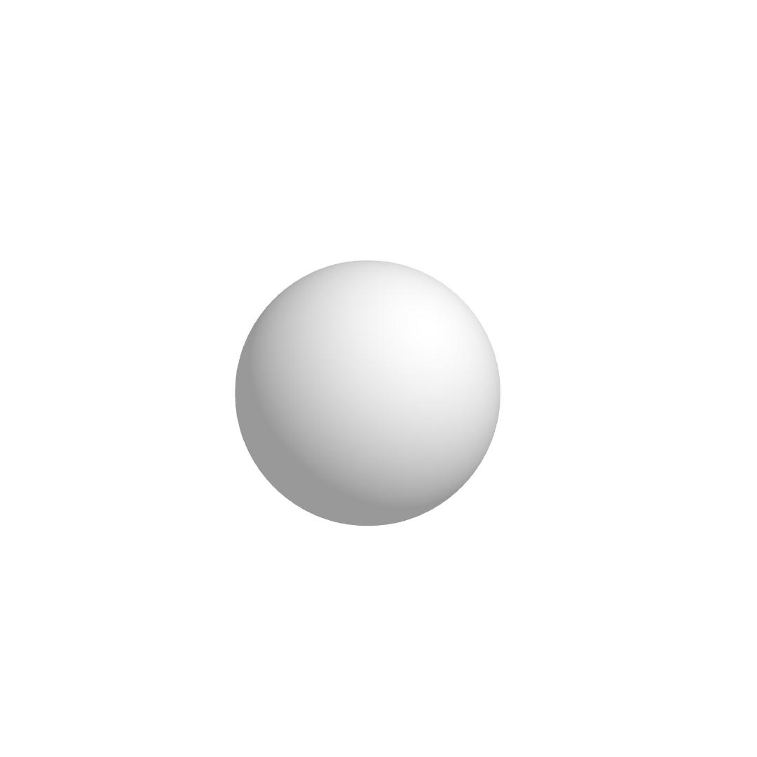 Bola De Isopor 7,5cm (75mm) Diâmetro Compacta