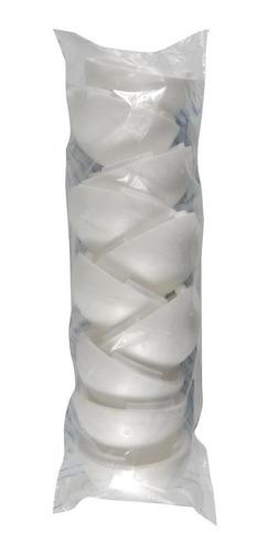 Bola Em Isopor 12,5 Cm - Oca - Duas Partes - Pacote com 20 unidades