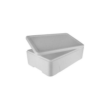Caixa Branca Para Alimento ou Pescado 10 Litros