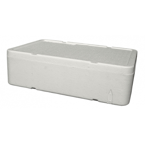 Caixa Branca Para Alimento ou Pescado 25 Litros