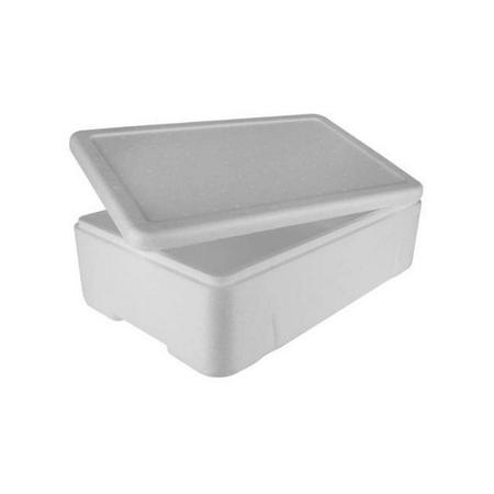 Caixa Branca Para Alimento ou Pescado 80 Litros