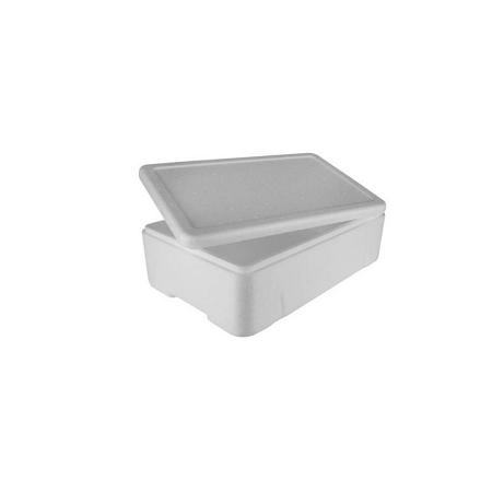 Caixa Branca Para Alimento ou Pescado 8 Litros
