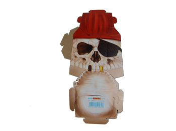 Caixa Crânio Halloween