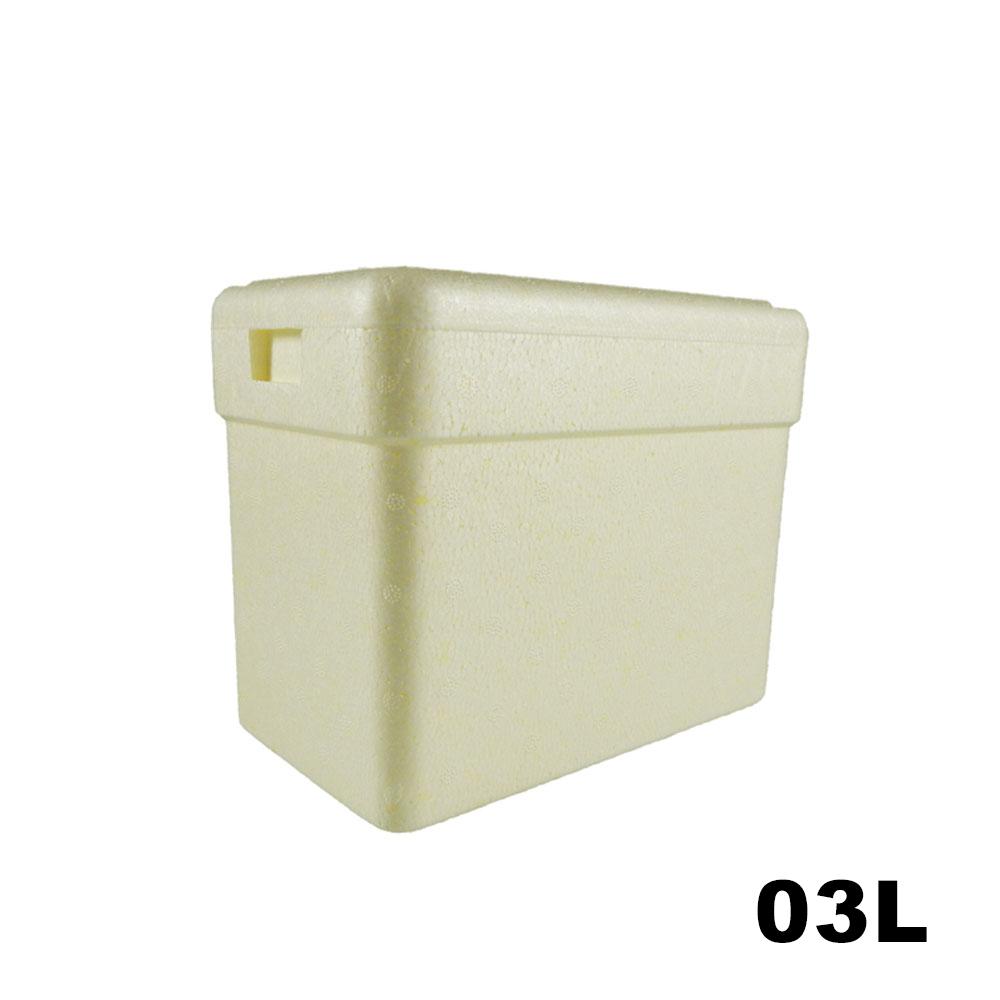 Caixa Térmica em Isopor - 03 litros