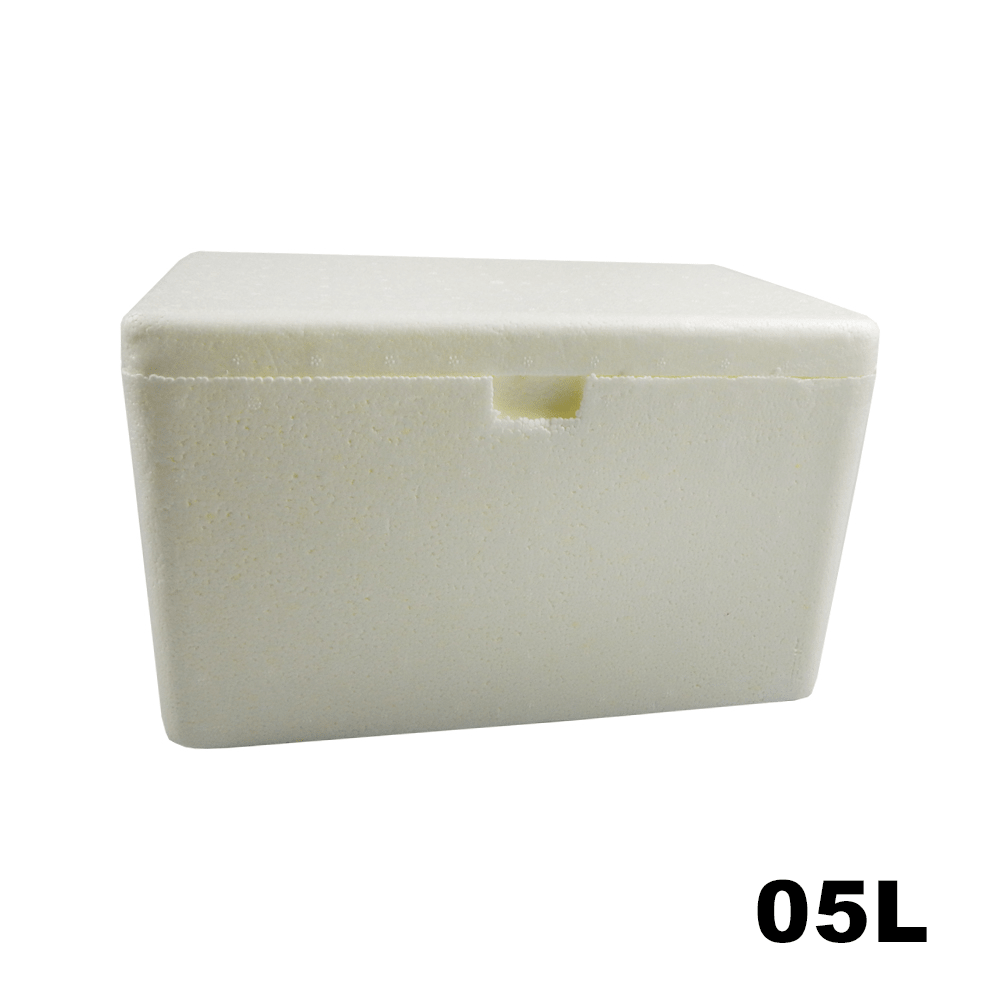 Caixa Térmica em Isopor - 05 Litros