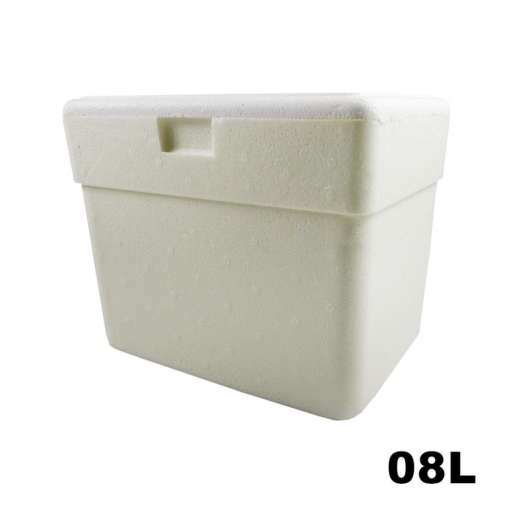 Caixa Térmica em Isopor - 08 Litros