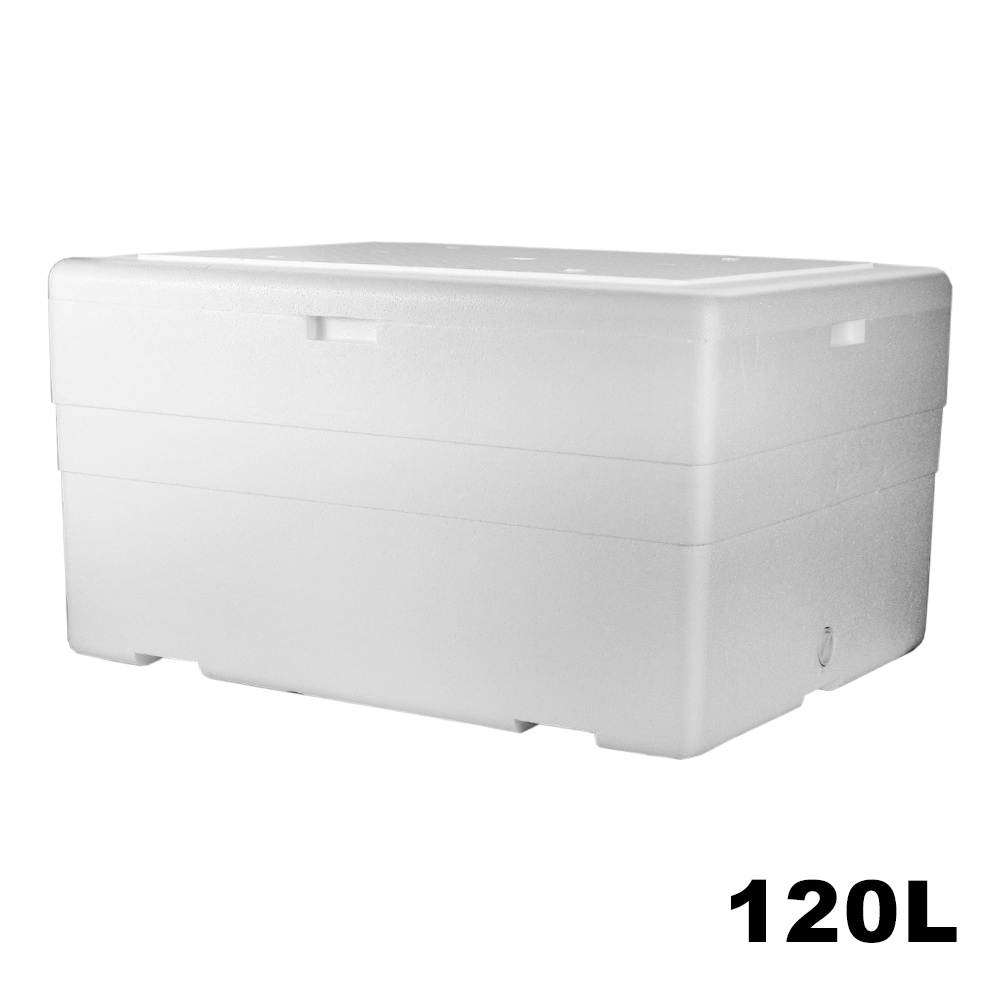 Caixa Térmica em Isopor - 120 Litros