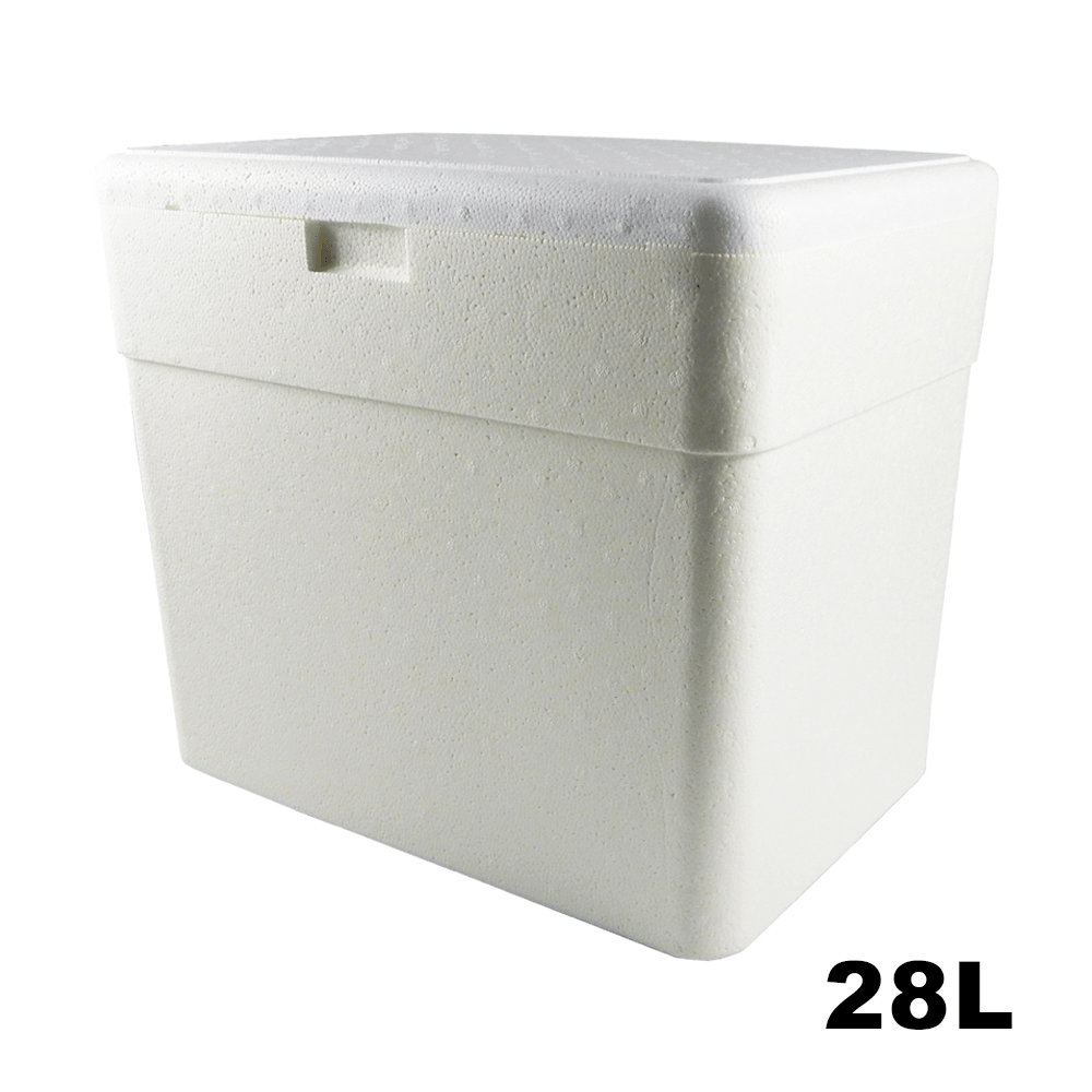 Caixa Térmica em Isopor - 28 Litros