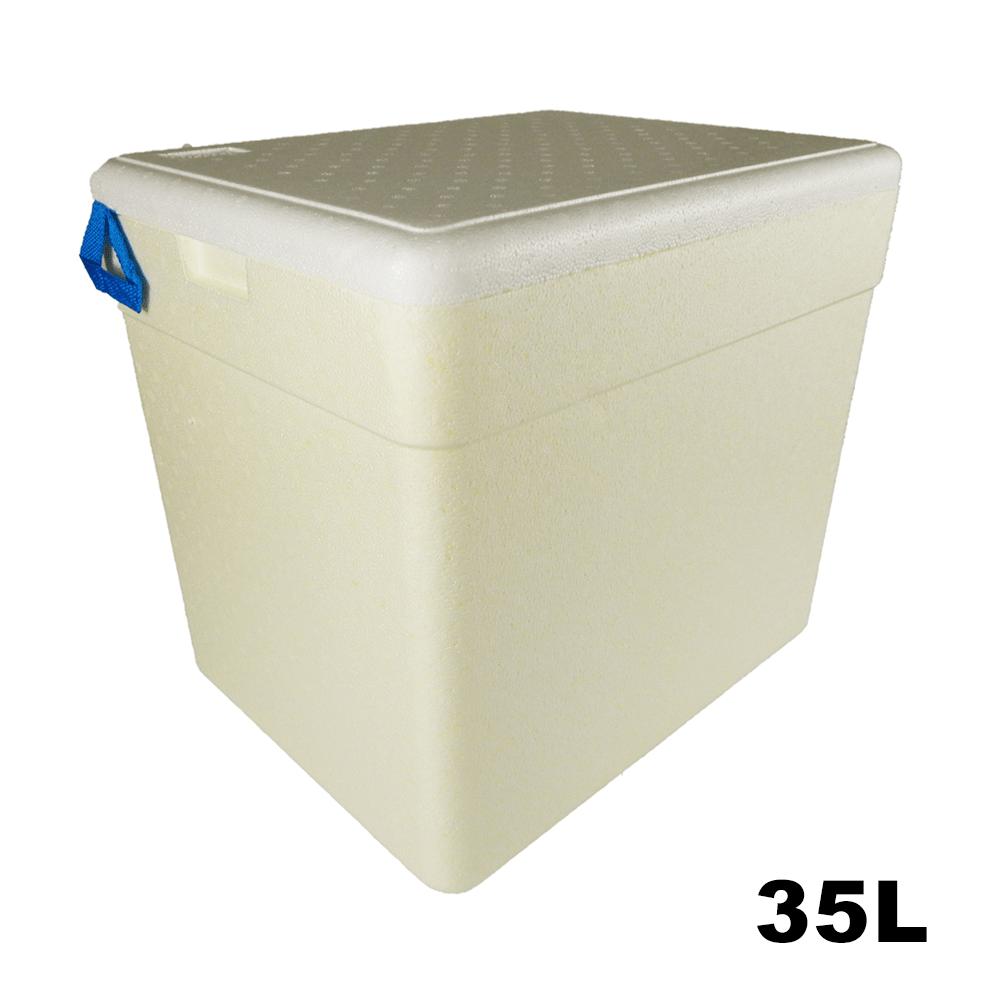 Caixa Térmica em Isopor - 35 litros