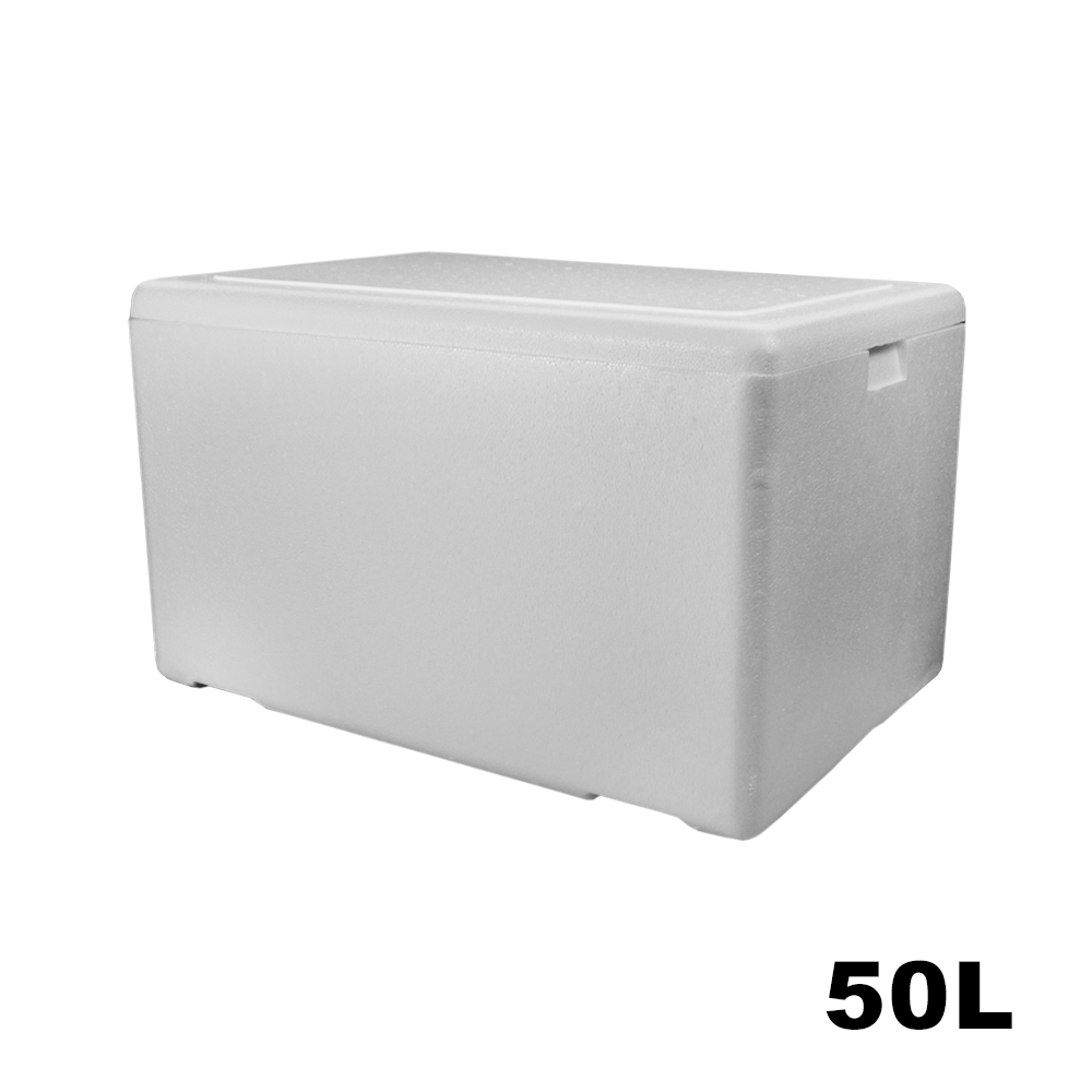 Caixa Térmica em Isopor - 50 Litros