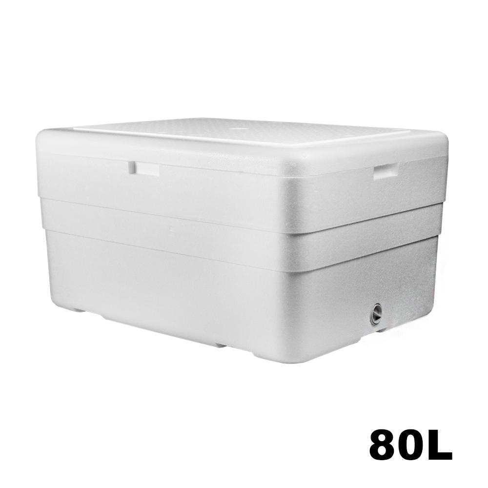 Caixa Térmica em Isopor - 80 Litros