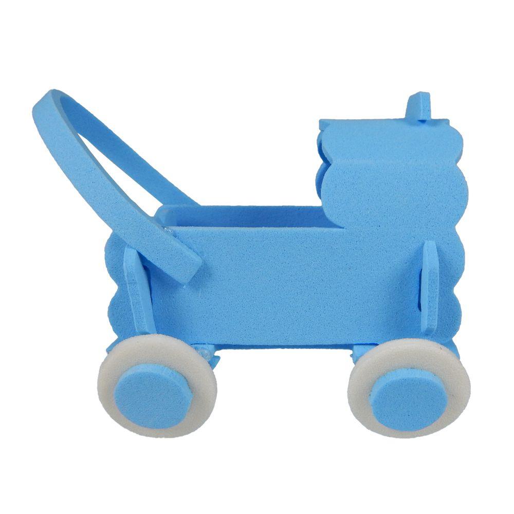 Carrinho em EVA Bebê Azul