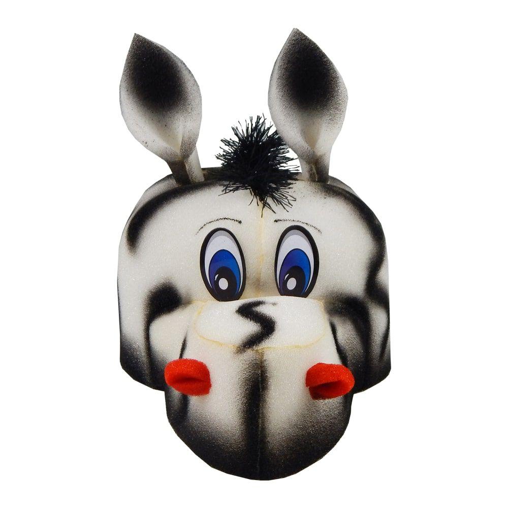 Chapéu Espuma Zebra