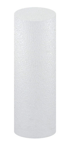 Cilindro Em Isopor 12x50cm Pacote Com 04 Unidades
