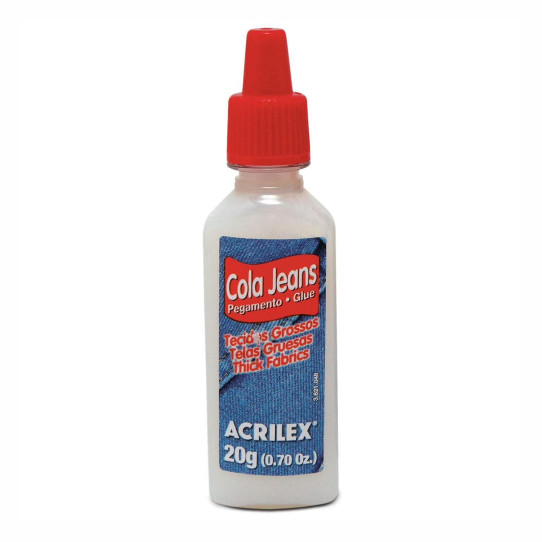 Cola Jeans Acrilex 20 gramas