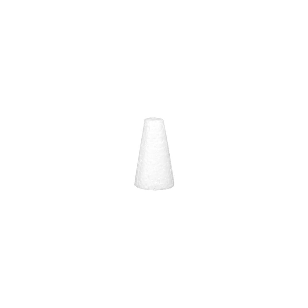 Cone em isopor 07cm altura x 4,2cm base
