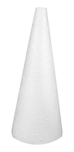 Cone Em Isopor 40x17cm 2 Unidades