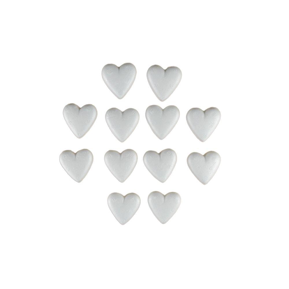Coração Maciço em Isopor 40 12UN