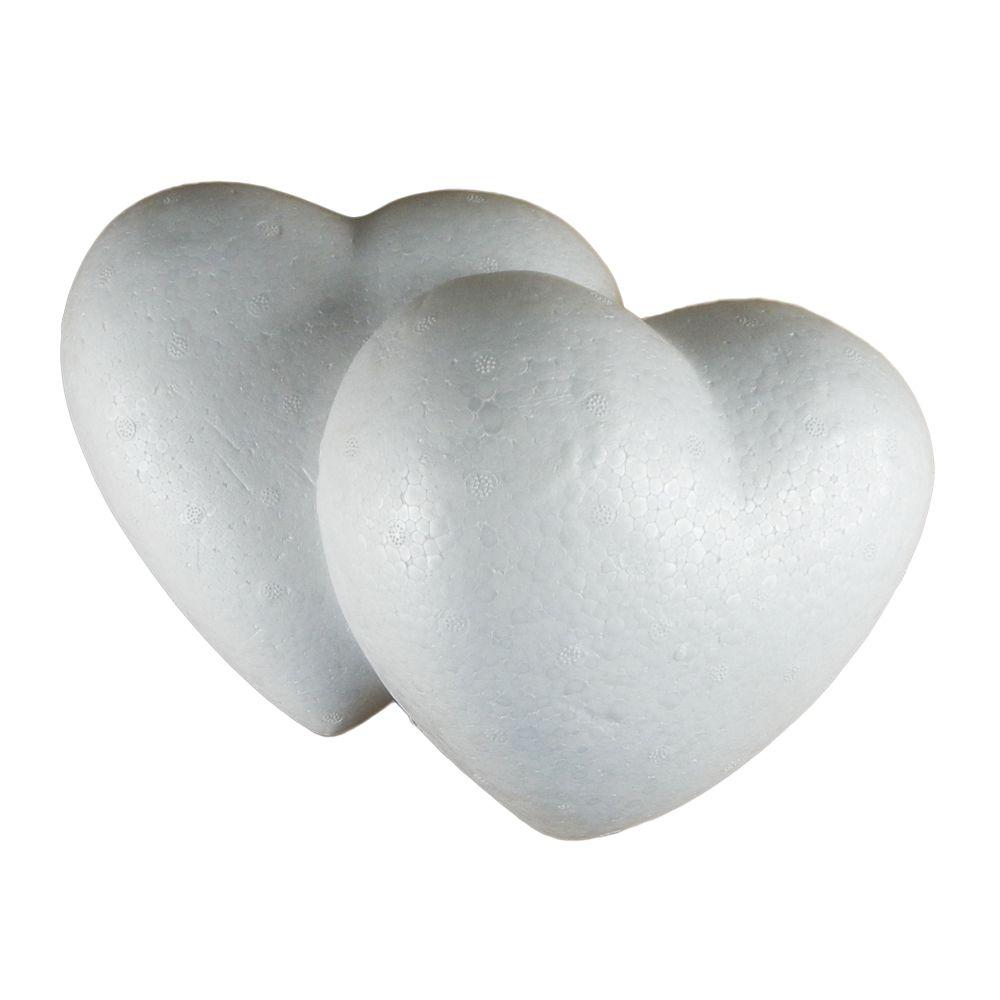 Coração Oco em isopor 200 01UN