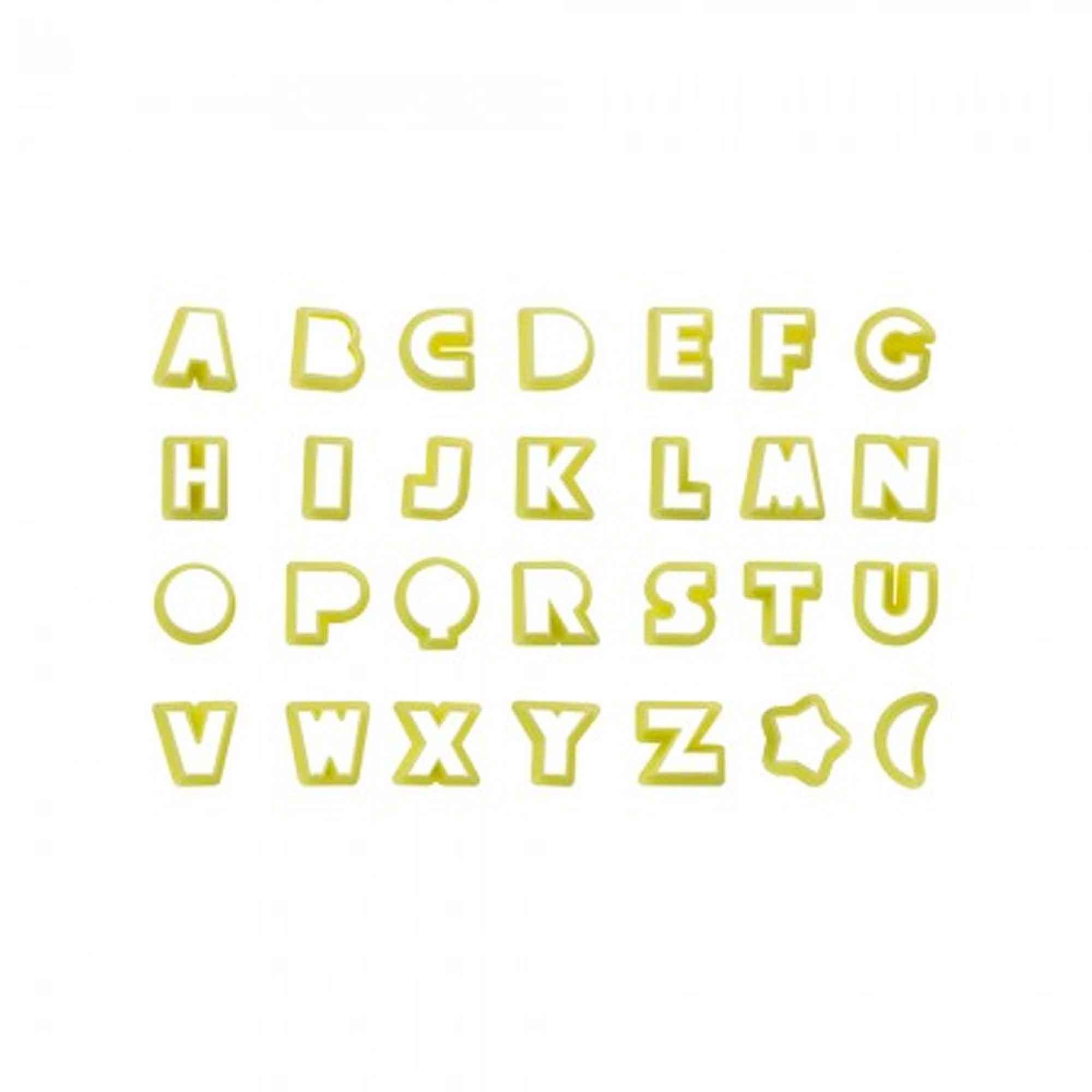Cortador Biscuit Letras 2cm