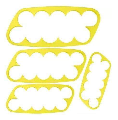 Cortador Biscuit Rosas - 04 peças