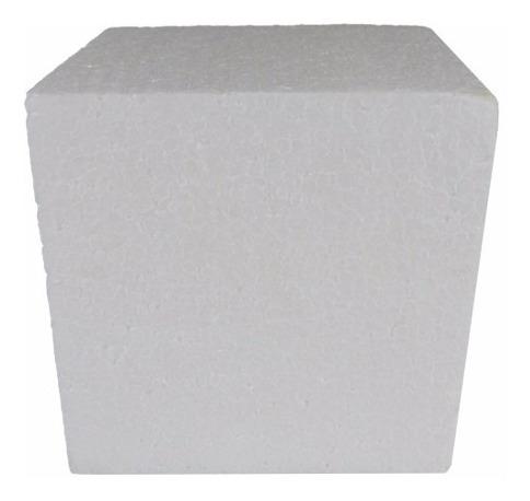 Cubo Em Isopor 100x100x100mm 10 Unidades