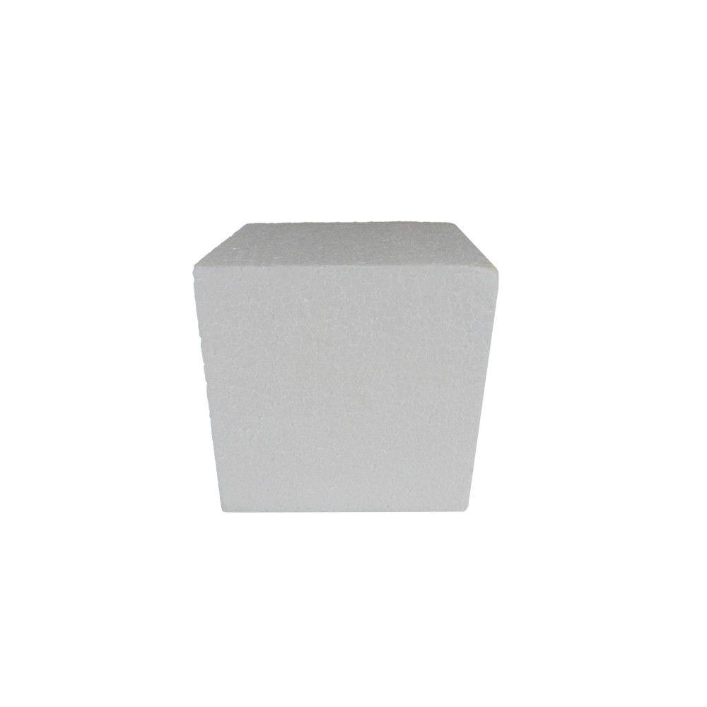 Cubo em isopor 10x10x10cm