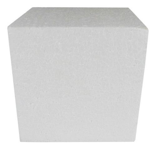 Cubo Em Isopor 150x150x150mm - 05 Unidades