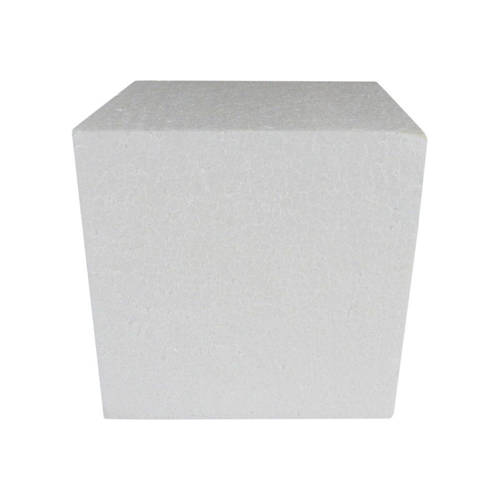 Cubo em isopor 15x15x15cm