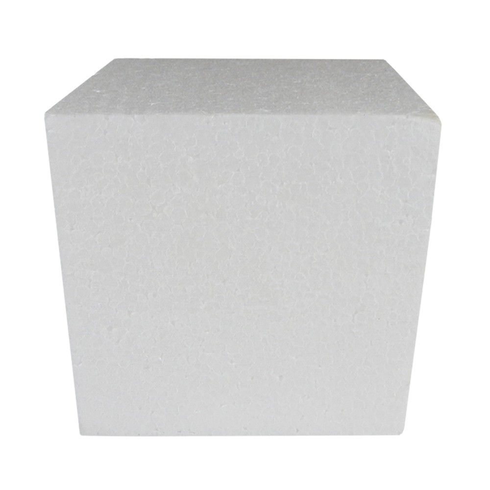 Cubo em isopor 25x25x25cm