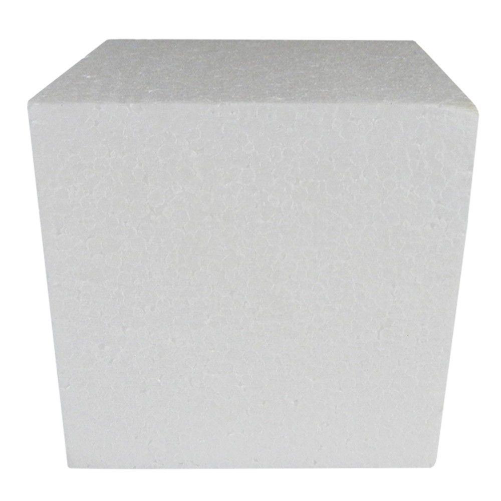 Cubo em isopor 30x30x30cm