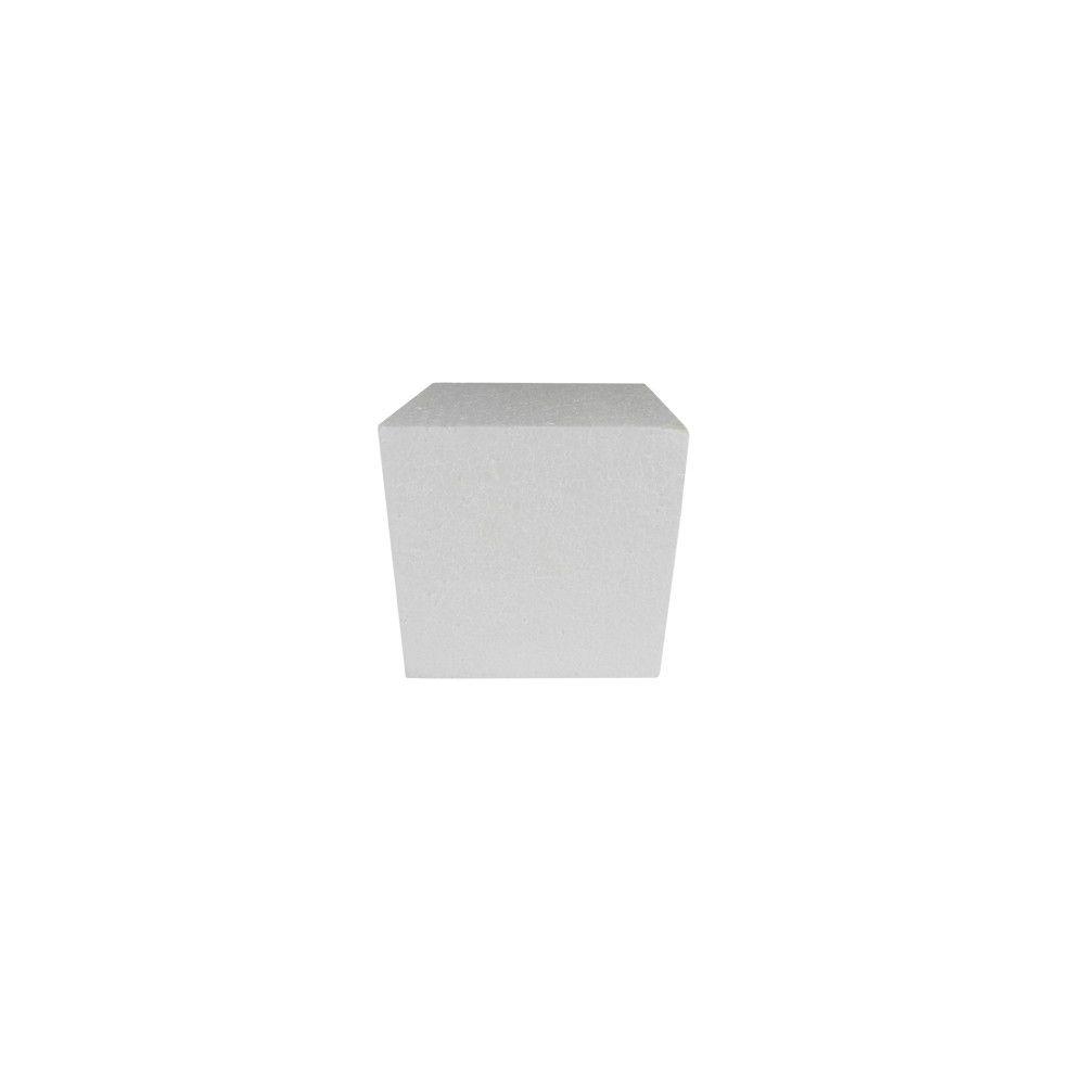 Cubo em isopor 5x5x5xcm