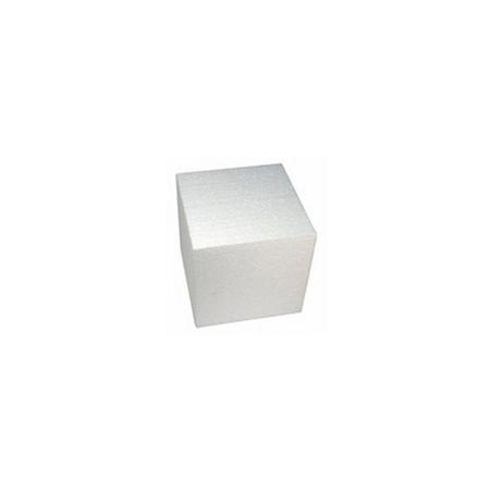 Cubo em Isopor 6 cm - 50 unidades